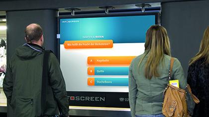 Infoscreen am Neumarkt